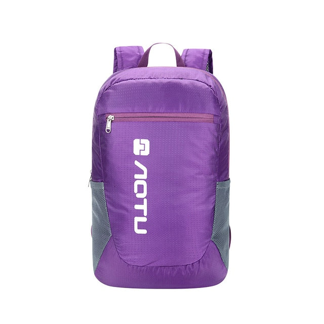 AOTU 20L Packable Backpack Purple