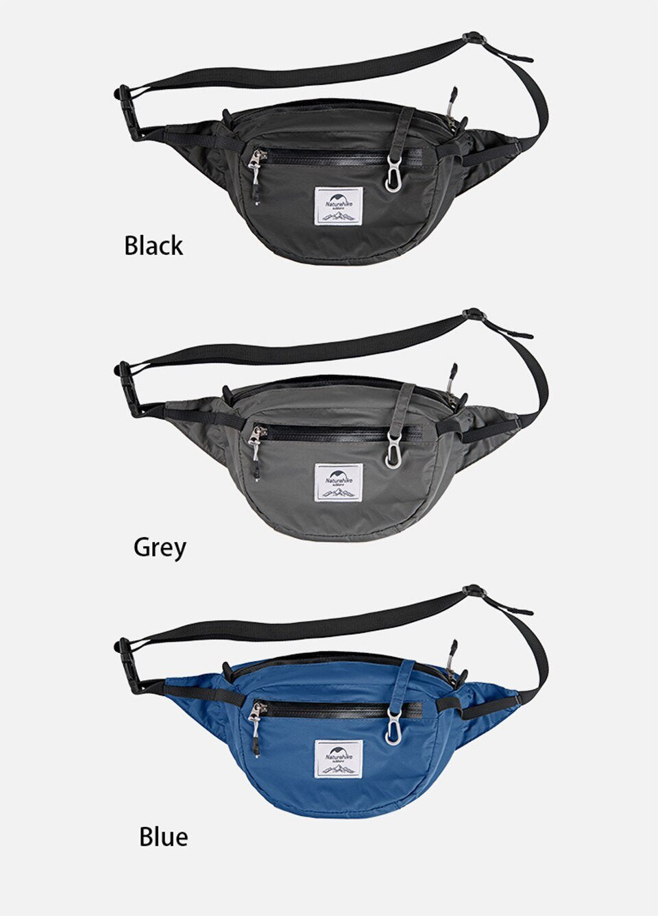 All colors Naturehike Packable Fanny Pack - Foldable Bag