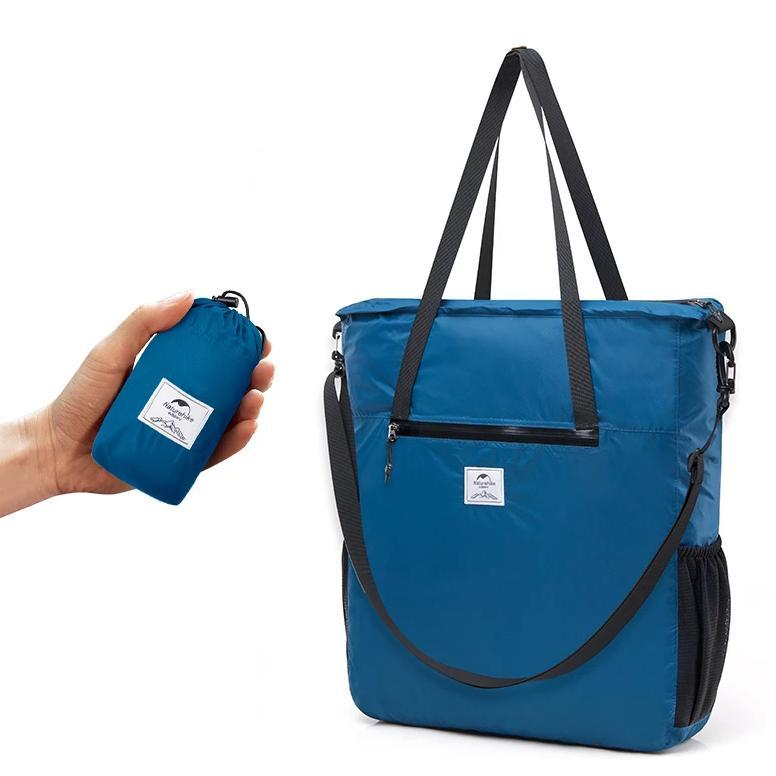 Naturehike Packable Tote Bag - Foldable Bag - Blue