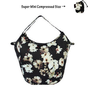 Floral Packable Tote Bag - 20L - Foldable bags small pouch