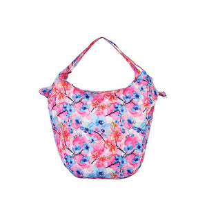 Pink Colorful Packable Tote Bag - 20L