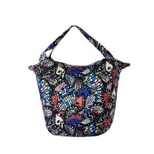 mosaic pattern Packable Tote Bag - 20L - Foldable bags