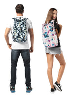 colorful packable backpack daypack for travel and hiking