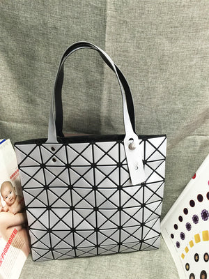 Triangle Mosaic Handbag
