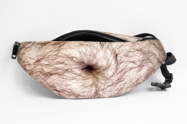 Hairy Dad Belly Fanny Pack - Stand Out Bags