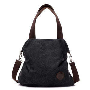 Audrey Medium Canvas Bag