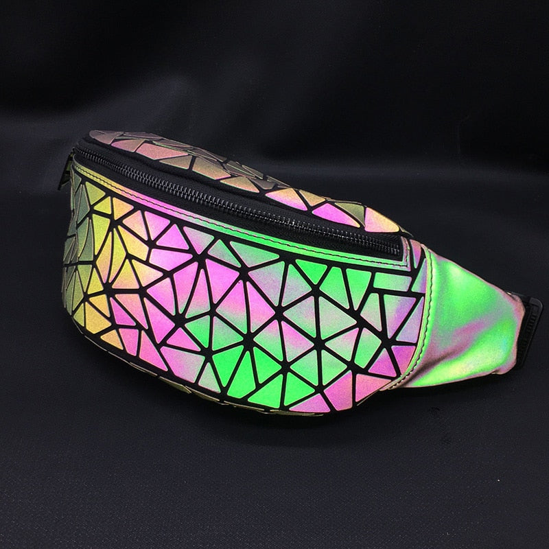 Geometric Luminous Fanny Pack -  Stand Out Bags