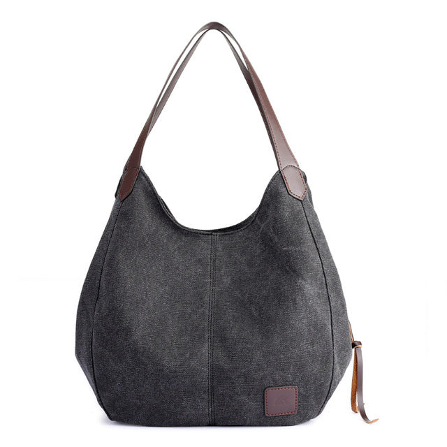 Paisley Canvas Bag