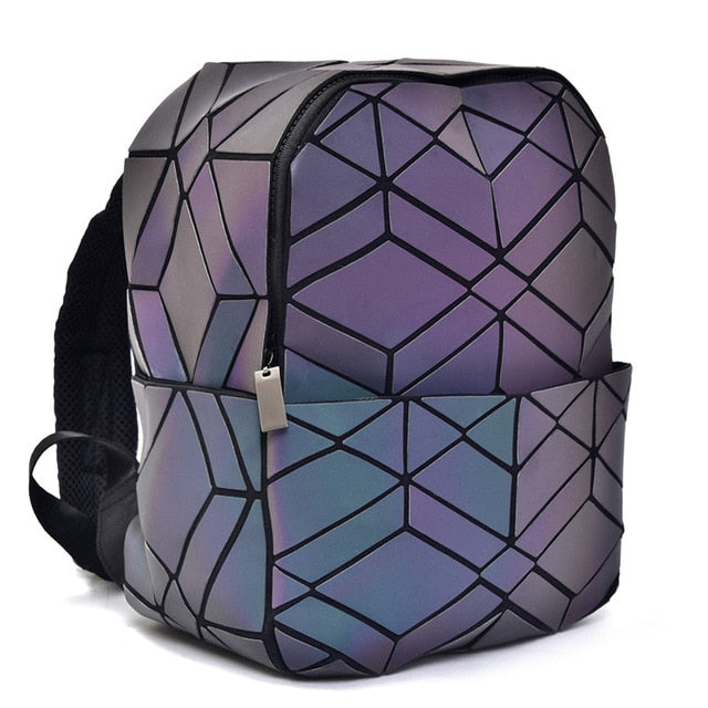 Geometric Backpack - Luminous Backpack diamond magic luminesk bag