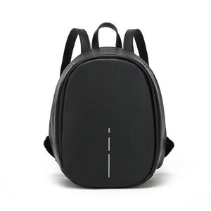 Black Anti Theft Backpack for Women  -  Pickpocket Proof Bag