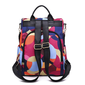 Oxford Anti Theft Backpack For Women