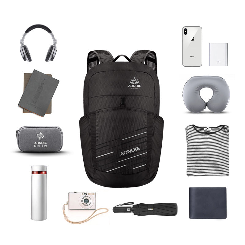 Folding Packable Backpack 25L - Capacity