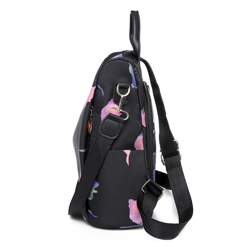 Oxford Anti Theft Backpack / Purple