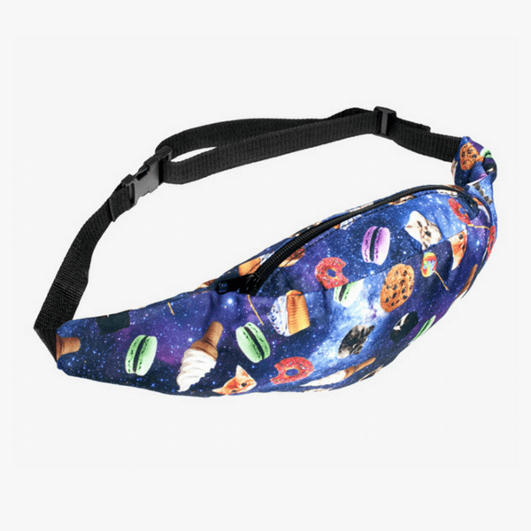 Funny Galaxy Fanny Pack