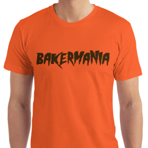 reputable site c617a fbeb5 Bakermania Baker Mayfield Cleveland Brown Orange Short-Sleeve T-Shirt
