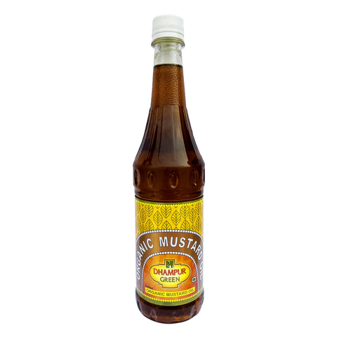 Organic Mustard Oil (Black) - Dhampur Green