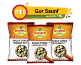 Rough Cut Cubes & Gur Saunf Combo - Dhampur Green