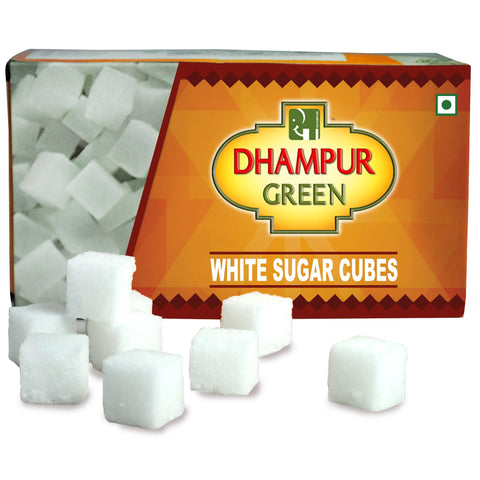 White Sugar Cubes - Dhampur Green