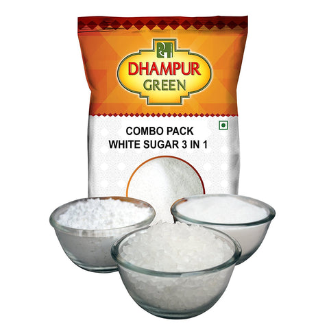 White Sugar - Three Types - Dhampur Green