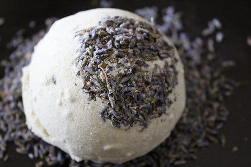 Organic Bath Bomb Calm Bomb- TWO SIZES lavender
