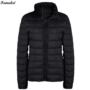 Light Down Quilted Jacket