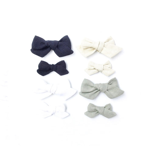 The Ollie Bow- Linen - The Classic Collection