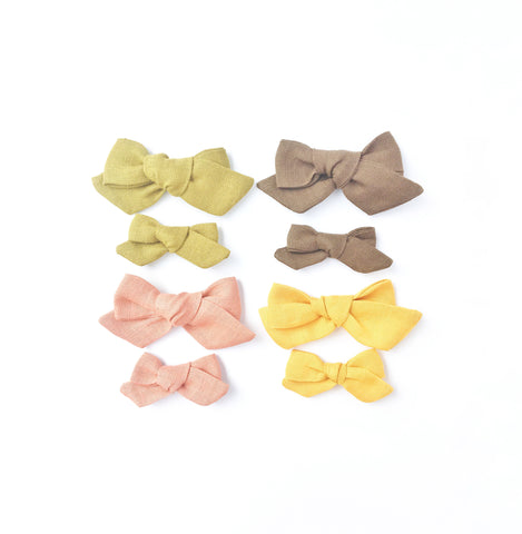 The Ollie Bow- Linen - The Vintage Collection