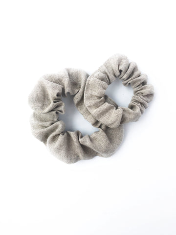 Scrunchie - Tweed Linen