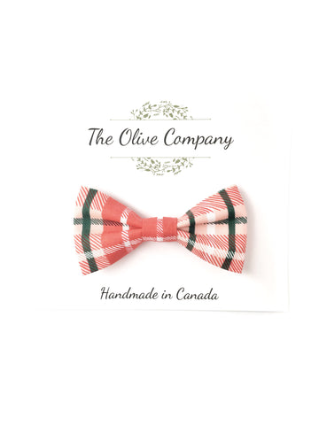 Bow Tie - Christmas Plaid