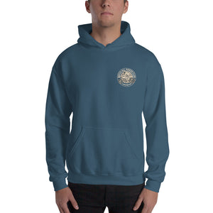 Watchill'n 'Riders Club' Unisex Hoodie - Watch Hill RI t-shirts with vintage surfing and motorcycle designs.