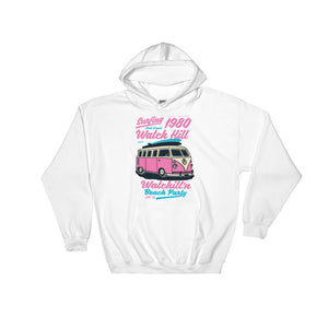 Watchill'n 'Beach Party' - Hoodie (Pink) - Watchill'n