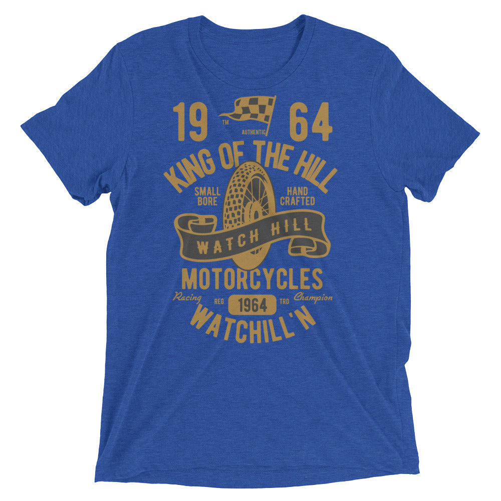 Watchill'n 'King of the Hill' Unisex Short sleeve t-shirt (Gold/Black) - Watchill'n