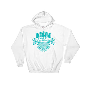 Watchill'n 'Paddle Board Club' - Hoodie (Turquoise) - Watchill'n