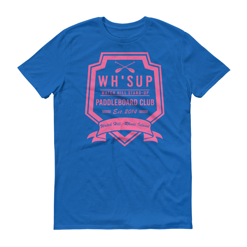 Watchill'n 'Paddle Board Club #2' - Short-Sleeve Unisex T-Shirt (Pink) - Watchill'n