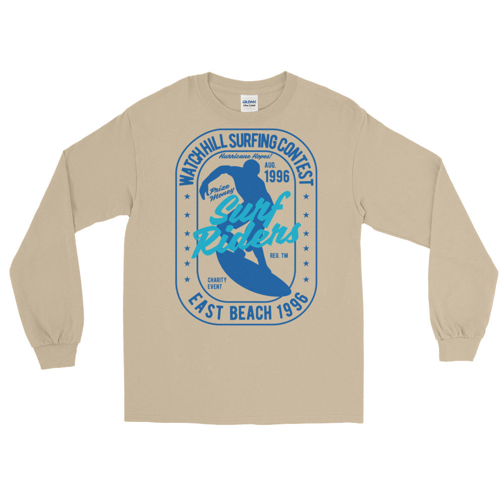 Watchill'n 'Surf Rider' - Long-Sleeve T-Shirt (Navy) - Watchill'n