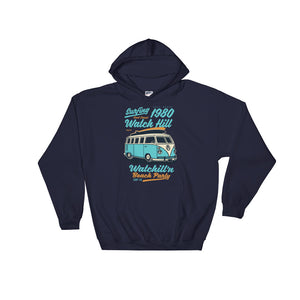 Watchill'n 'Beach Party' - Hoodie (Turquoise) - Watchill'n