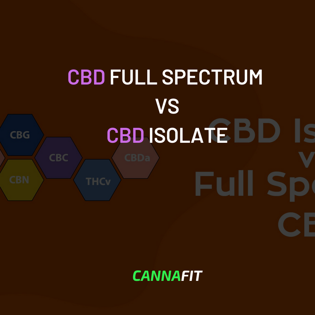 CBD FULL SPECTRUM VS ISOLATE WHAT IS THE DIFFERENCE?