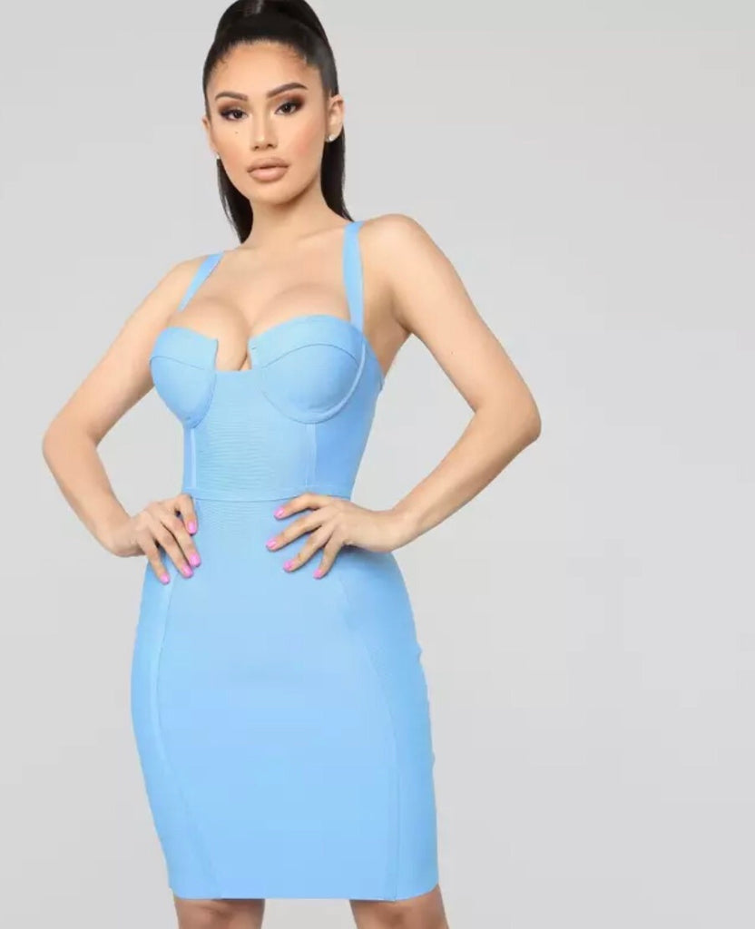 Sass & Class bandage dress-More colors!