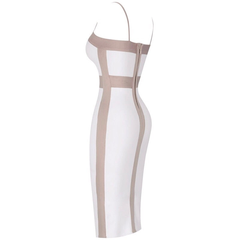 Boat midi bandage dress-More colors!