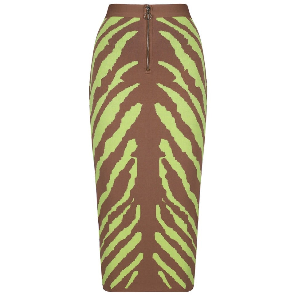 Cra' Cra' Zeb long bandage skirt