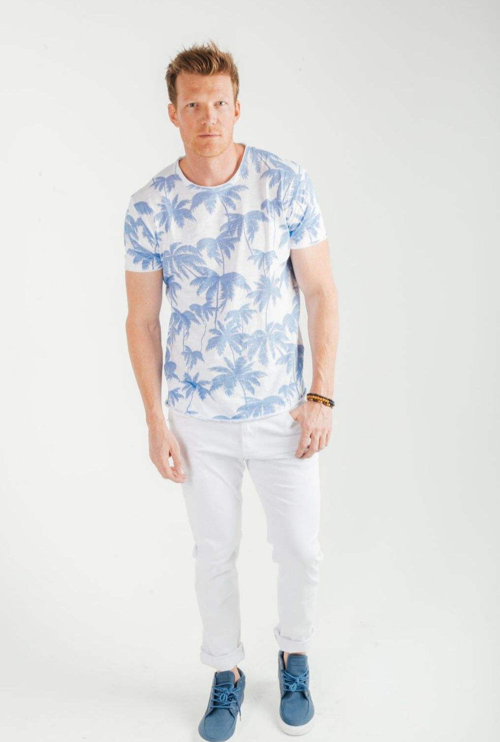 Y.two Miami Palm T-shirt