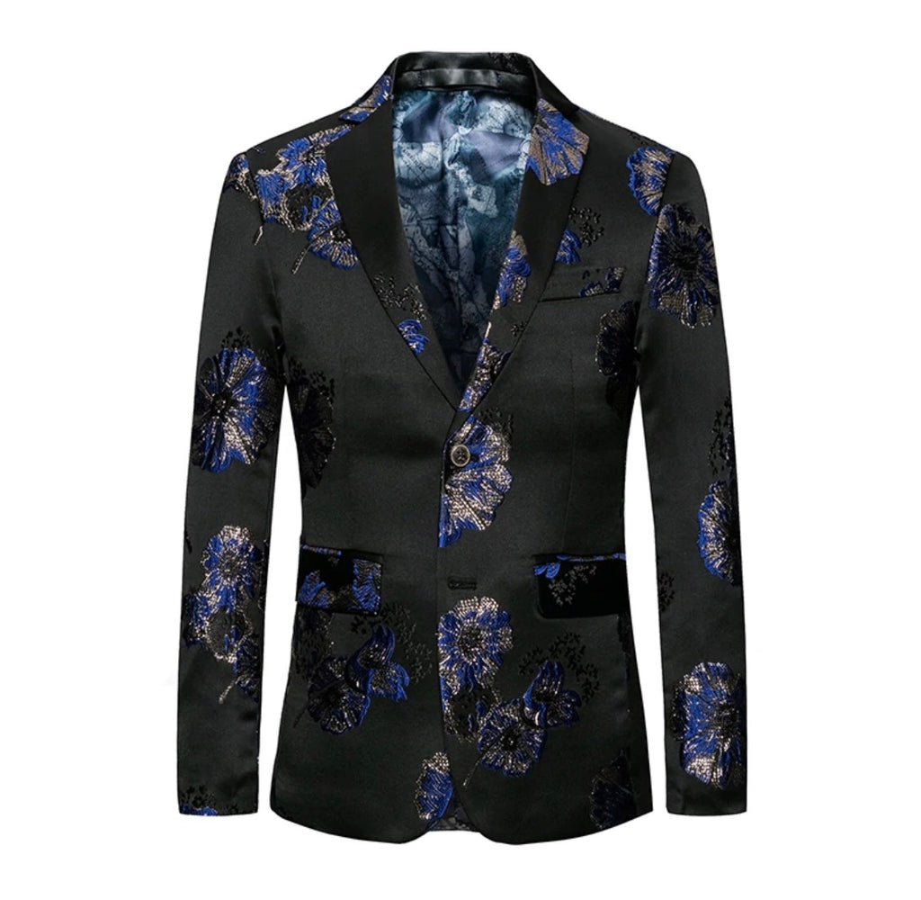 Miami floral night blazer-Clearance!