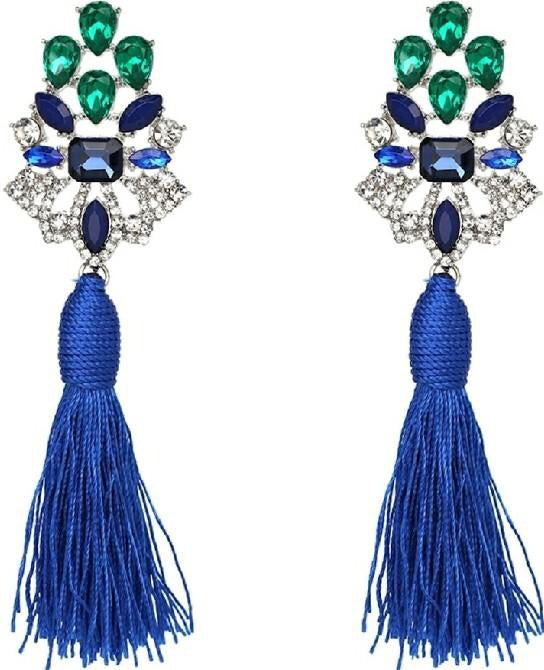 Regal tassel earring-More colors!