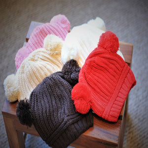 Knitted Kids Winter Hats
