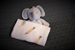 Breathable Cotton Baby Swaddles