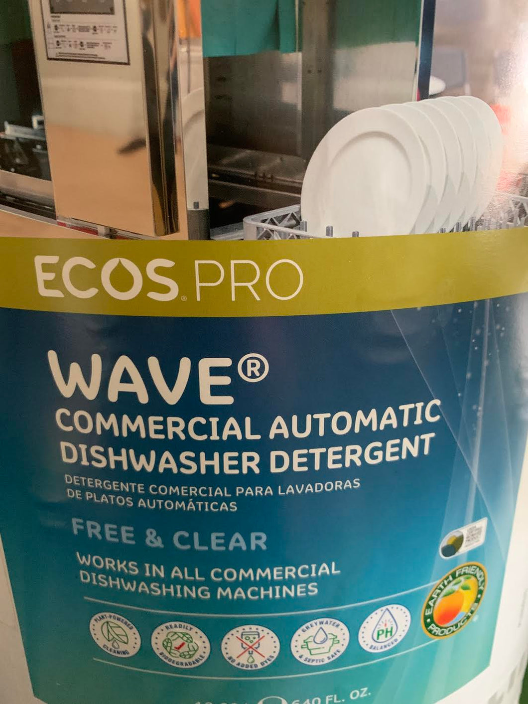 ECOS Pro Concentrated Dishwasher Liquid