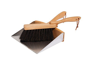 Redecker Dust Pan/ Hand Brush set
