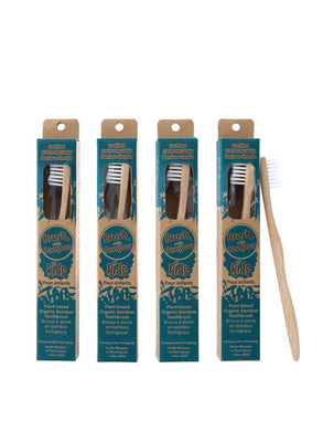 Brush with Bamboo Kids Toothbrush