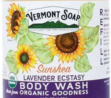 Vermont Soap Company Body Wash *half gallon*