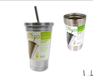 D'Eco Stainless Steel Tumbler